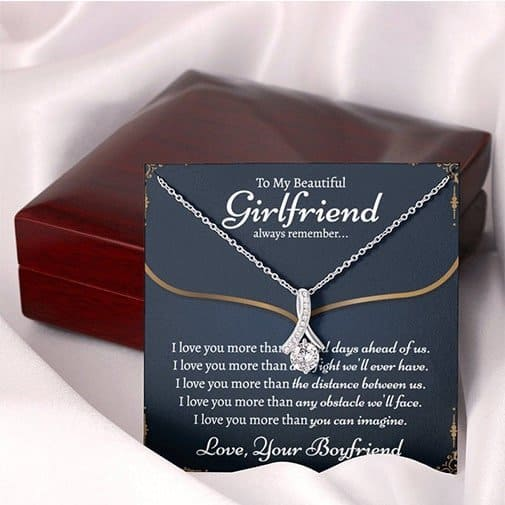 Meaningful Girlfriend Necklace