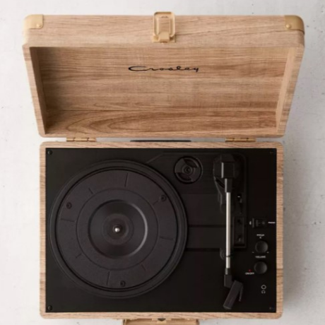 Wood Cruiser Bluetooth Record Player - One year anniversary gifts for boyfriend