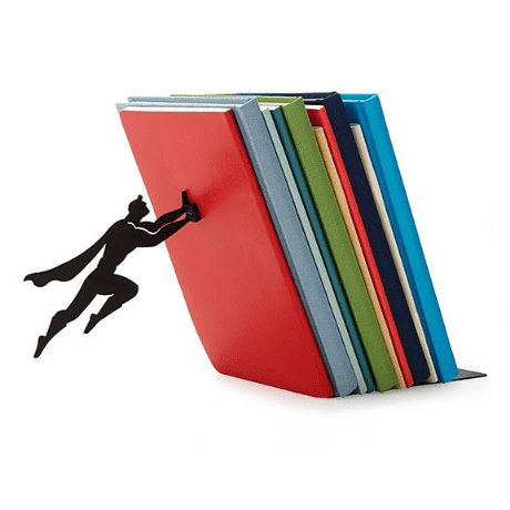 Hero Bookend - matching couple gifts