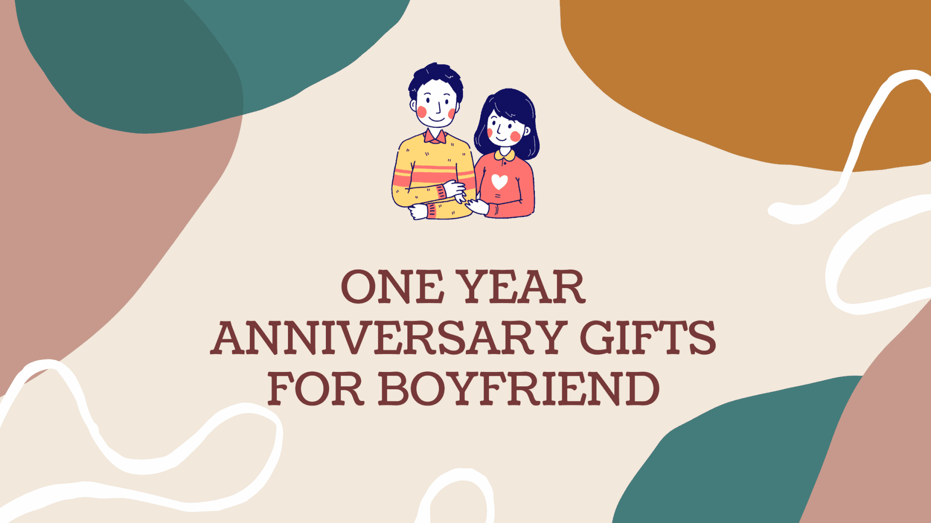 25 One Year Anniversary Gifts for Your Boyfriend to Swipe Him off His Feet