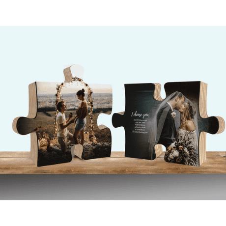 Matching Puzzle - matching couple gifts
